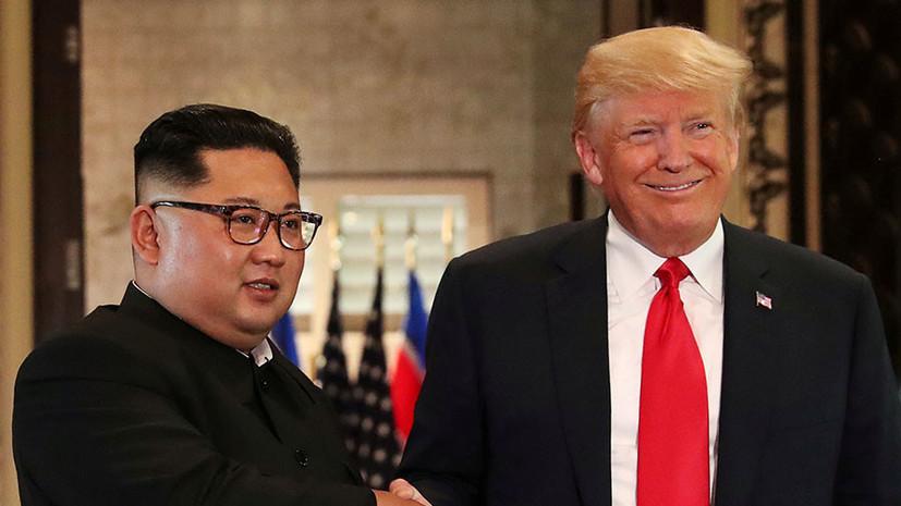 «Желание добиться своего»: как США и Северная Корея намерены развивать мирный диалог в 2019 году