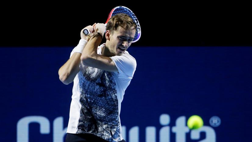 Медведев обыграл Маррея в 1/8 финала турнира в Брисбене