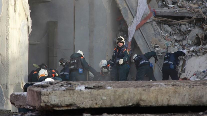 Из-под завалов в Магнитогорске извлечено тело 22-го погибшего