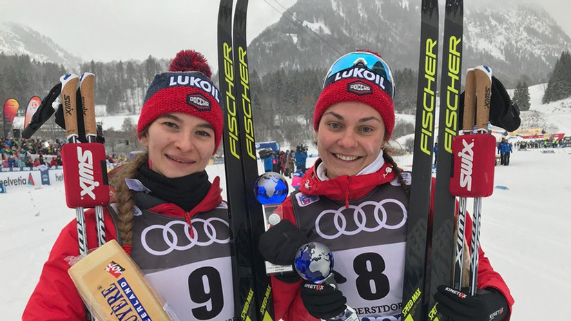 В доле секунды от победы: Непряева финишировала второй в масс-старте на «Тур де Ски»