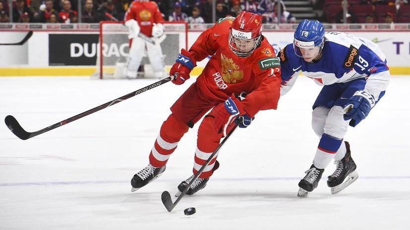 Хоккеист молодёжной сборной России Подколзин не удивлён поражениями Швеции и Канады