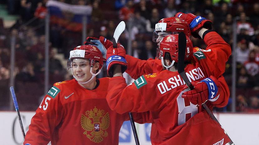 «С каждой встречей становимся увереннее»: что говорили в российской сборной после победы над Словакией в 1/4 финала МЧМ