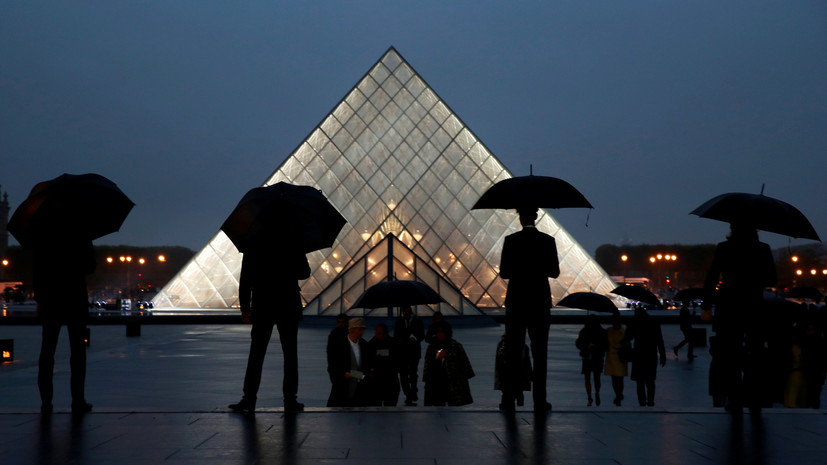 Парижский Лувр в 2018 году установил рекорд по посещаемости