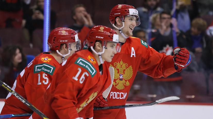 Третьяк считает, что предстоящий матч молодёжной сборной России с США сравним с финалом