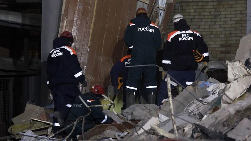 Число жертв обрушения подъезда дома в Магнитогорске возросло до 39
