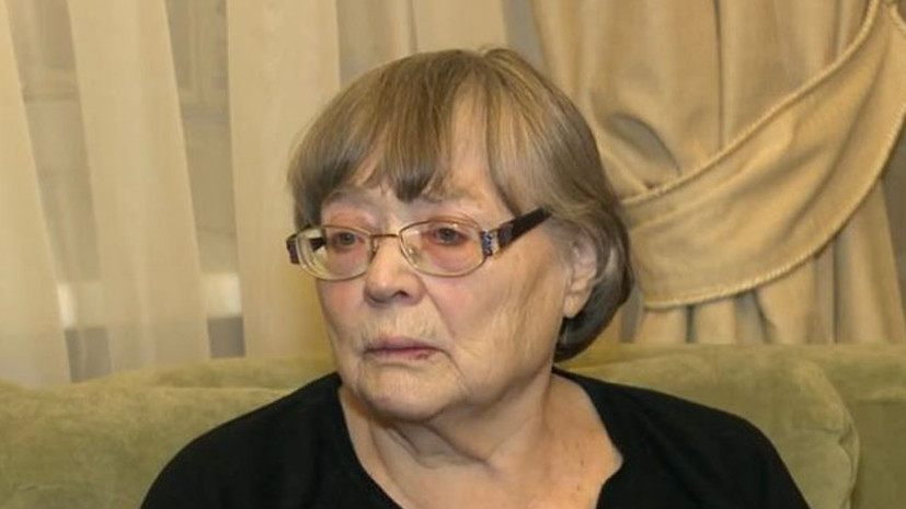Скончалась заслуженная артистка России Райна Праудина