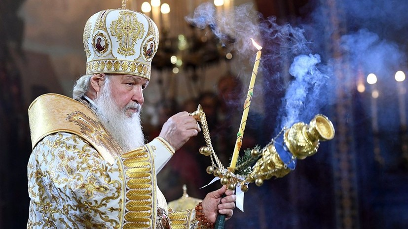 В РПЦ заявили о задержании тиража послания патриарха Кирилла на Украине