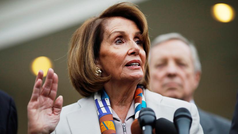 Нэнси Пелоси избрана спикером палаты представителей США
