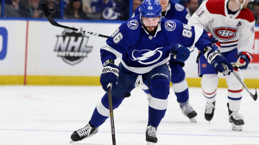 Kucherov Recognized As The Second Star Of The Game Day In The Nhl