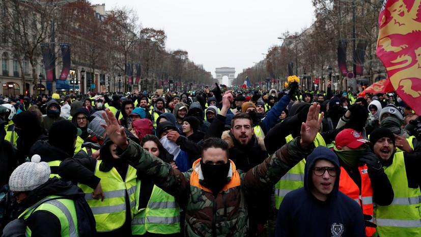 «Merci, RT»: активисты «жёлтых жилетов» не доверяют французским СМИ