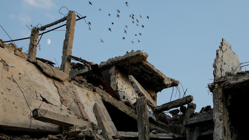 SANA: при авиаударе коалиции вДейр эз-Зоре погибли 10 человек