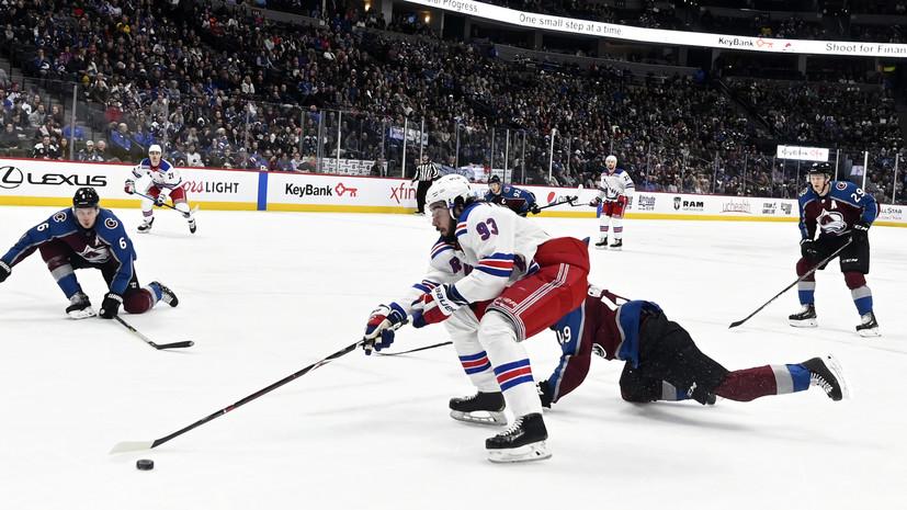 «Колорадо» разгромил «Нью-Йорк» в матче НХЛ, несмотря на 41 сейв Георгиева