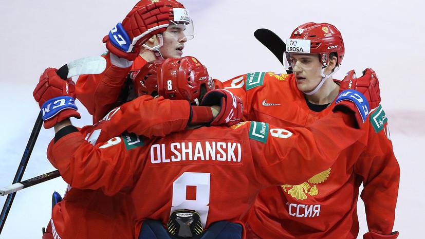 Плющев считает, что в молодёжной сборной России по хоккею нет лидеров