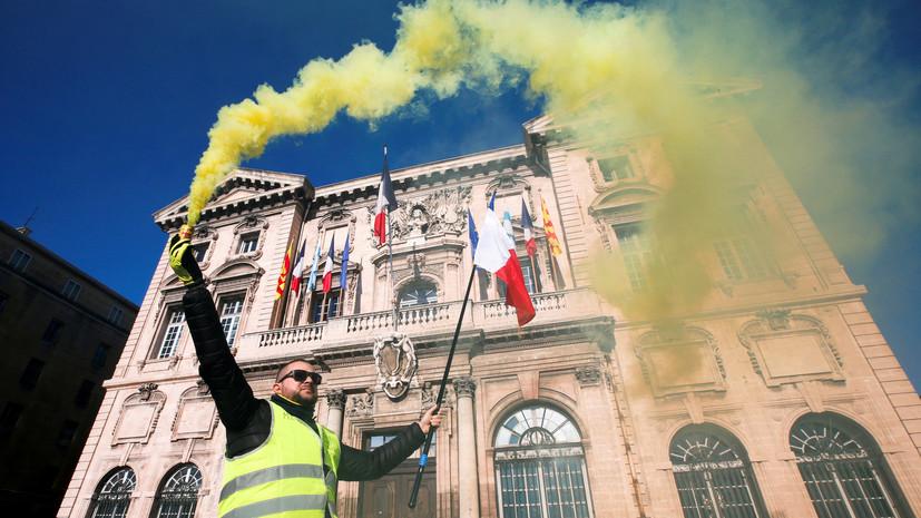 «Произошла делегитимация власти»: «жёлтые жилеты» в восьмой раз вышли на акции протеста против политики Макрона