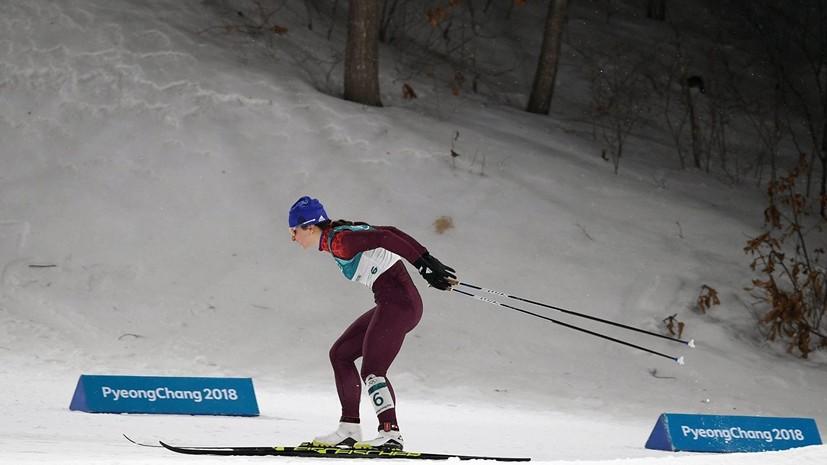 Непряева сохранила второе место в общем зачёте «Тур де Ски» после масс-старта