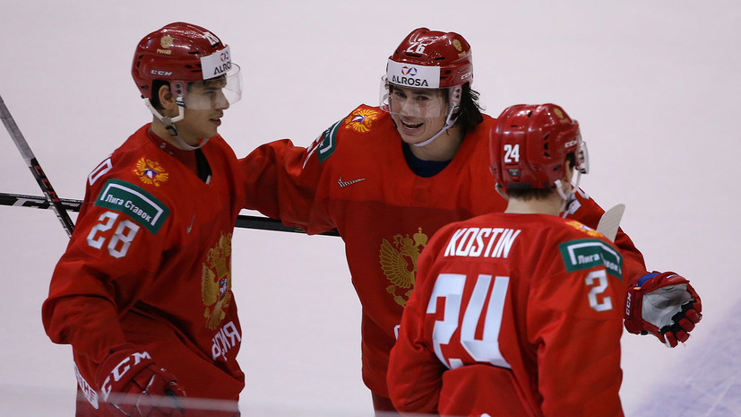 Россия сыграет в одной группе с Канадой и США на МЧМ-2020