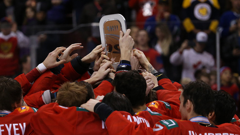 Третьяк о бронзе сборной России на МЧМ:  и в победах, и в поражениях хоккеисты закаляются