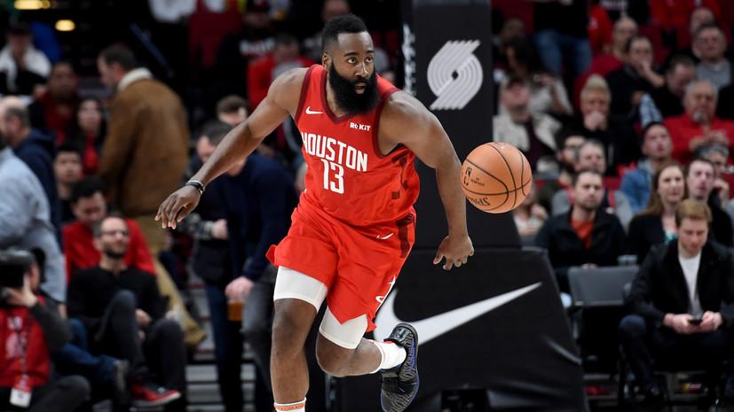 Баскетболист «Хьюстона» Харден повторил достижение Джордана