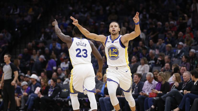 «Голден Стэйт» и «Сакраменто» установили рекорд НБА по числу реализованных трёхочковых бросков за матч