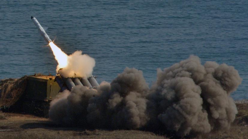 В Крыму провели учения ракетные комплексы «Бал»