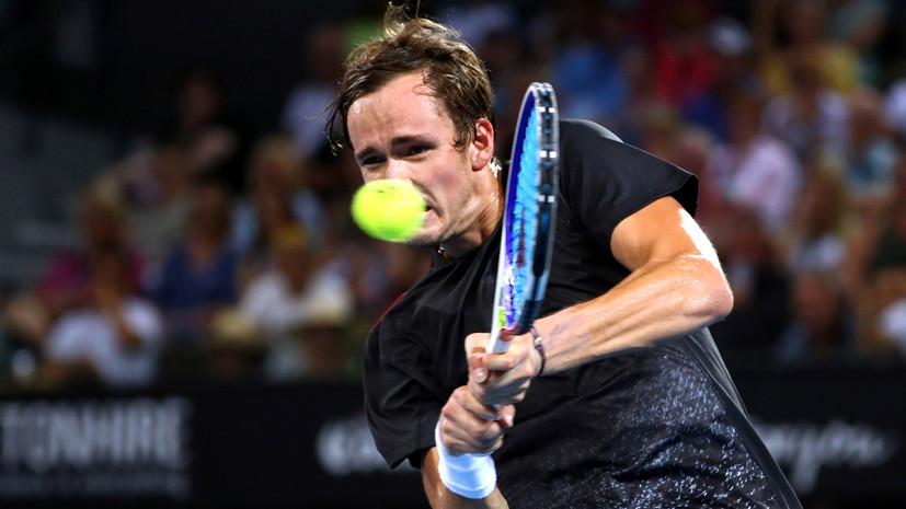 Медведев проиграл Нисикори в финале турнира ATP в Брисбене