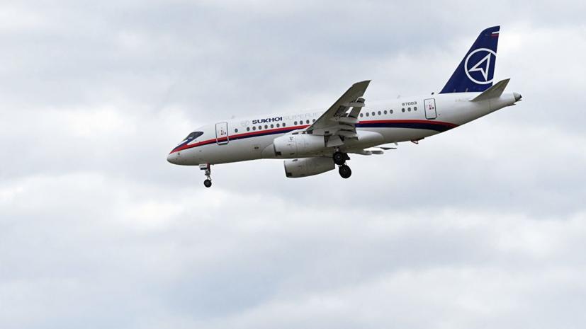СМИ: США заблокировали поставки Superjet 100 в Иран