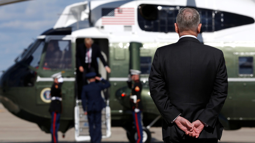 Выход из обороны: глава аппарата Пентагона покинул свой пост