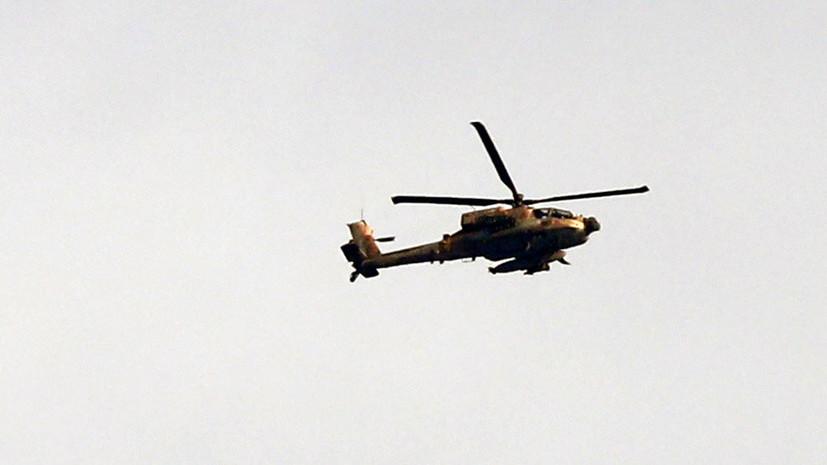Израильские ВВС нанесли удар по военным позициям ХАМАС