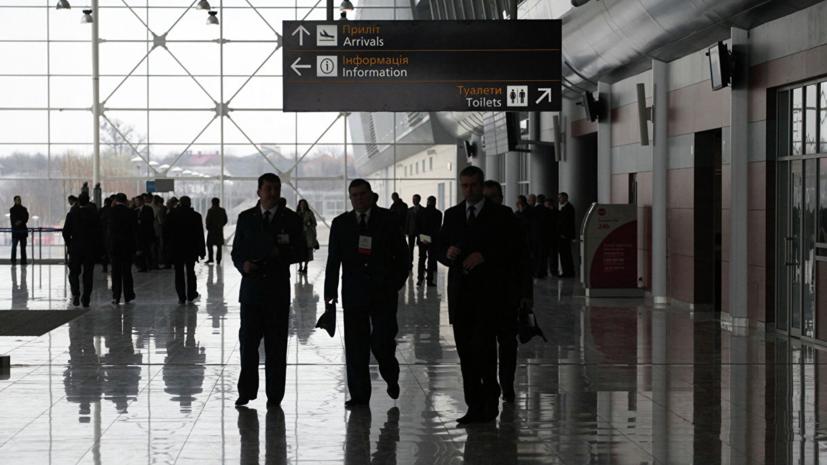 Аэропорт Львова возобновил работу после ЧП