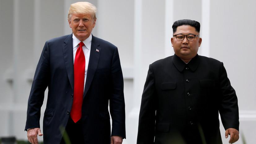 СМИ: Трамп и Ким Чен Ын могут провести новый саммит в Ханое
