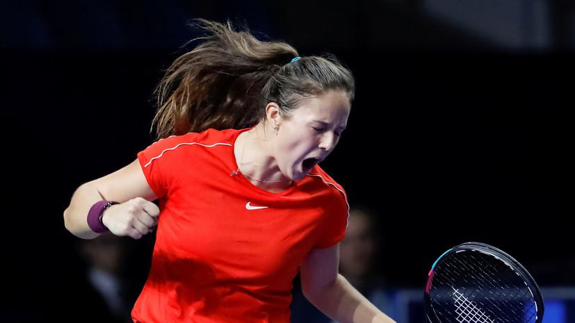 Касаткина сохранила десятую строчку в рейтинге WTA