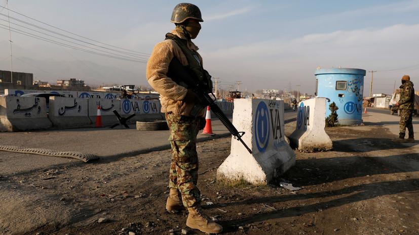 При столкновениях с талибами в Афганистане погибли 13 военных и полицейских