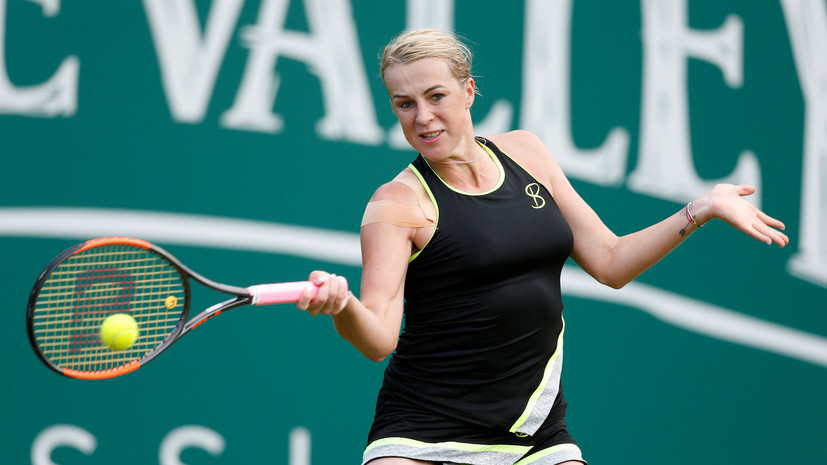 Российские теннисистки Павлюченкова и Родина не сумели пробиться во второй круг турнира в Хобарте