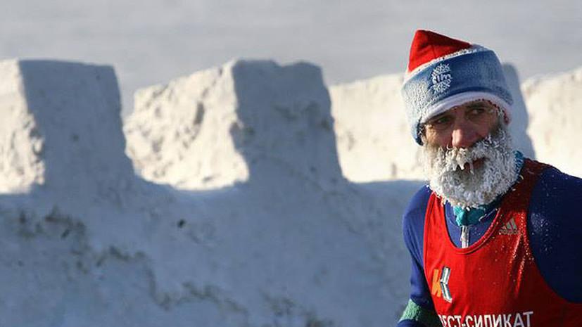 Более тысячи человек вышли на старт Рождественского полумарафона в Омске