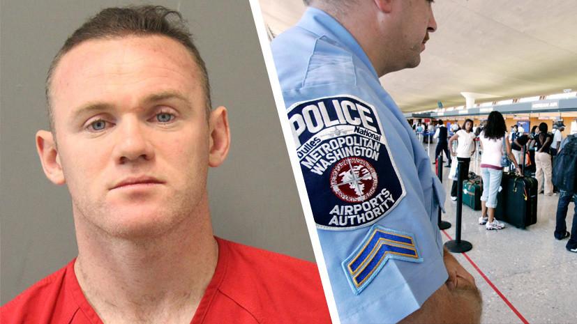 «Был дезориентирован»: что известно о задержании английского футболиста Руни в США