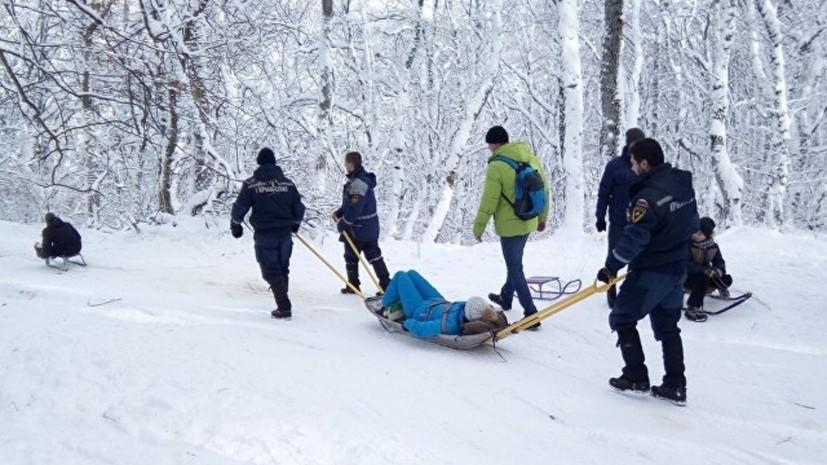 В двух инцидентах в горах Крыма пострадали пять человек