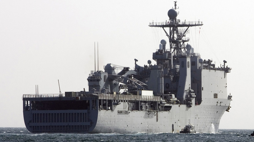 Экс-начальник штаба ЧФ оценил ситуацию с кораблём США в Чёрном море