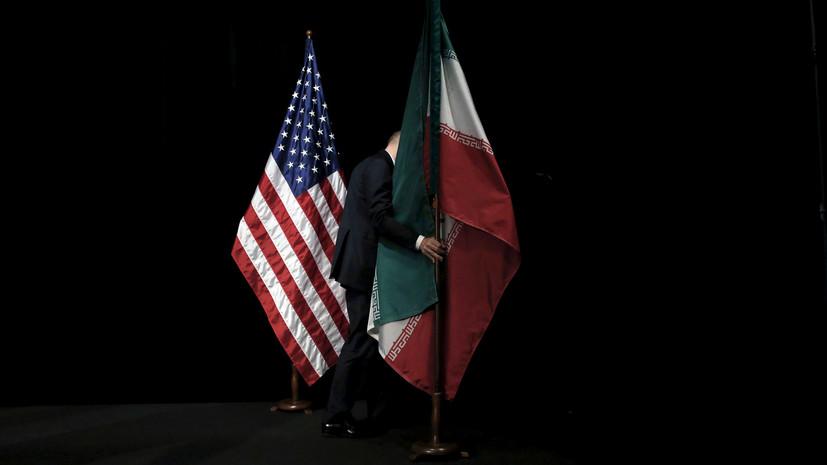 В Иране рассказали о попытках США возобновить переговоры