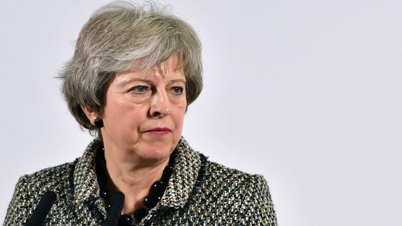 Мэй возглавит комитет по подготовке к брекситу без сделки с ЕС