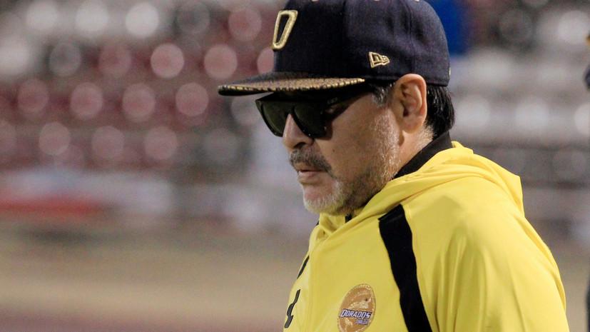Марадона считает, что Месси никогда не станет лидером