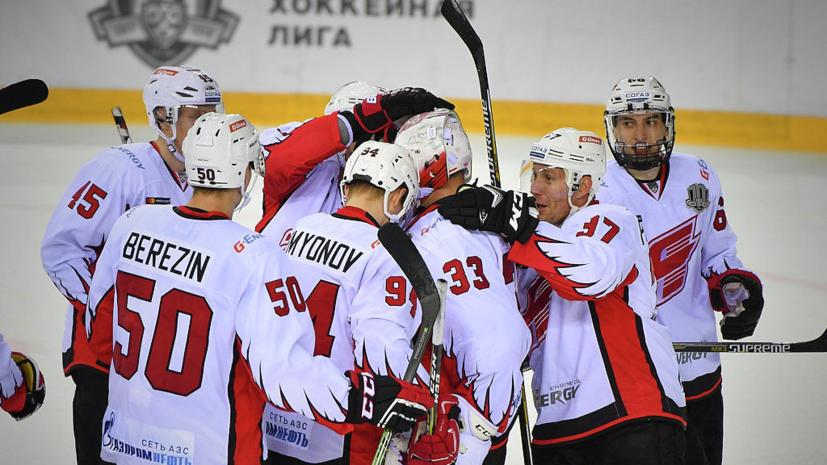 «Авангард» обыграл «Спартак» в матче КХЛ
