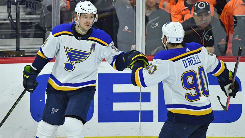 Шайба Тарасенко помогла «Сент-Луису» победить «Филадельфию»  в матче НХЛ