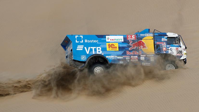 Экипаж Николаева победил на первом этапе ралли-марафона «Дакар»
