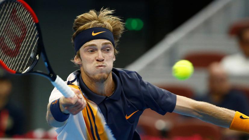 Рублёв вышел во второй круг турнира ATP в Сиднее, обыграв Пуи