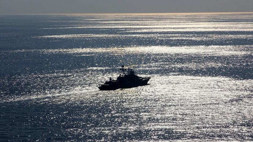 Корабль «Североморск» вошёл в Мраморное море