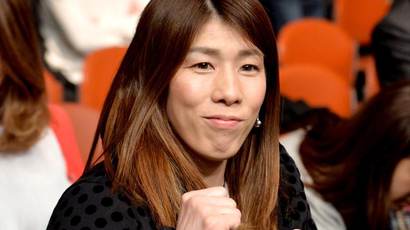 Трёхкратная олимпийская чемпионка в вольной борьбе Ёсида объявила о завершении карьеры