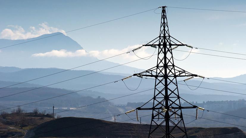В Крыму восстановили работу электросетей, повреждённых из-за непогоды