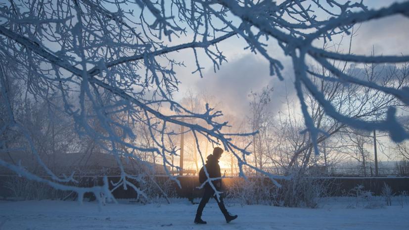 МЧС предупредило о морозах до -30 °С в ночь на 9 января в Оренбургской области