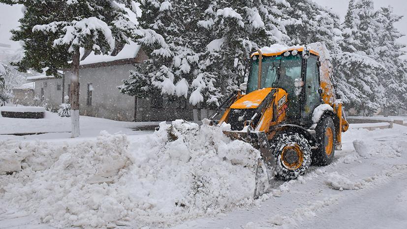 Спасатели предупредили о сильном снегопаде в Ленинградской области 9 января