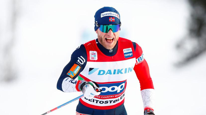 Сундбю заявил, что может пропустить «Тур де Ски» в следующем сезоне